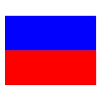 Carte Postale Lettre nautique E (écho) de signal de drapeau