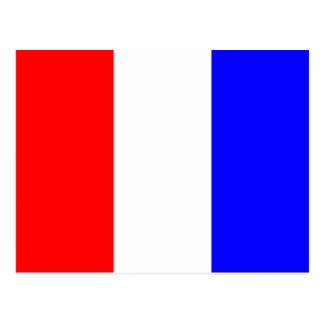 Carte Postale Lettre nautique T de signal de drapeau d'alphabet