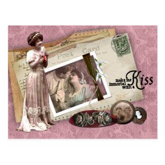 Carte Postale Lettres d'amour romantiques victoriennes