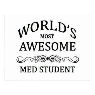 Carte Postale L'étudiant du Med le plus impressionnant du monde