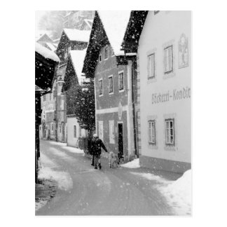 Carte Postale L'Europe, Autriche, Hallstat. Rue de Milou