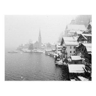 Carte Postale L'Europe, Autriche, Hallstat. Vue de ville dans la