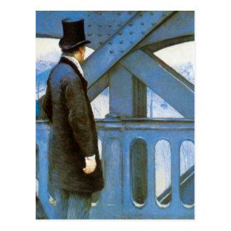 Carte Postale l'Europe de Le Pont de par Gustave Caillebotte