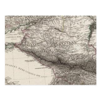 Carte Postale L'Europe de l'Est, Russie, Turquie