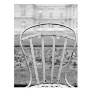 Carte Postale L'Europe, France, Paris. Chaise, Jardin du