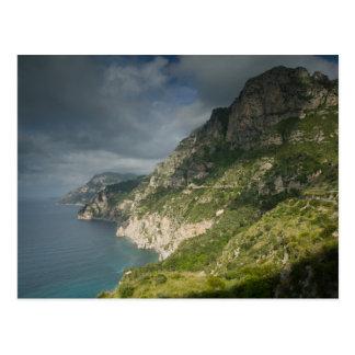 Carte Postale L'Europe, Italie, Campanie (côte d'Amalfi)