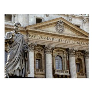 Carte Postale L'Europe, Italie, Rome. La basilique de St Peter