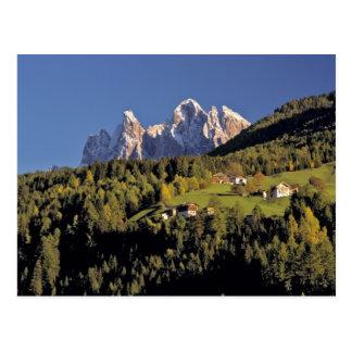 Carte Postale L'Europe, Italie, San Pietro. Le groupe d'Odle