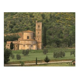 Carte Postale L'Europe, Italie, Toscane. Abbazia di Sant'Antimo,