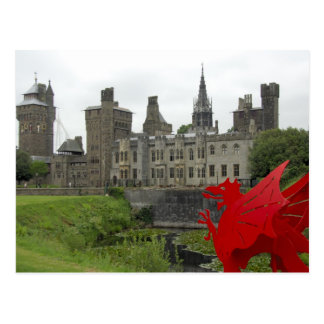 Carte Postale L'Europe, Pays de Galles, Cardiff. Château de