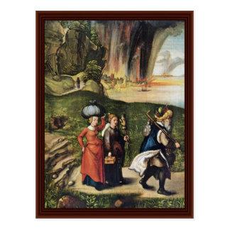 Carte Postale L'évasion des sorts par Albrecht Dürer