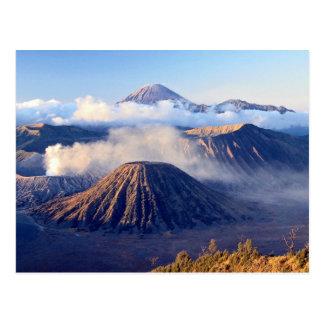 Carte Postale Lever de soleil au bâti Bromo, Java, Indonésie