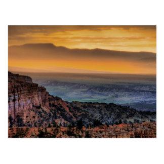 Carte Postale Lever de soleil au canyon de Bryce
