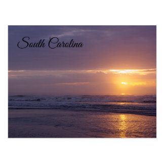 Carte Postale Lever de soleil de la Caroline du Sud