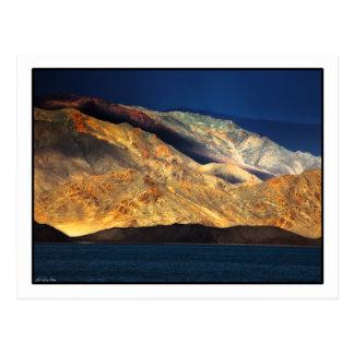 Carte Postale Lever de soleil de montagne d'Altai, Mongolie -