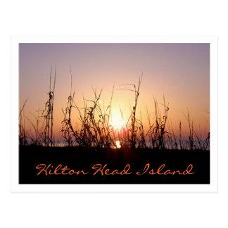Carte Postale Lever de soleil Hilton Head Island