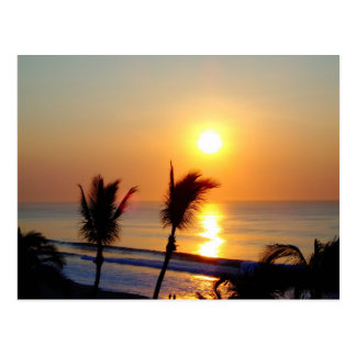 Carte Postale Lever de soleil - San Jose de Cabo