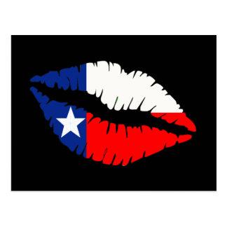 Carte Postale Lèvres du Texas