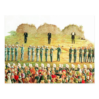 Carte Postale L'exécution de Maximilian I
