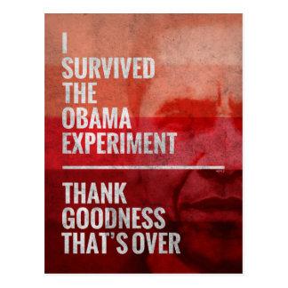 Carte Postale L'expérience d'Obama