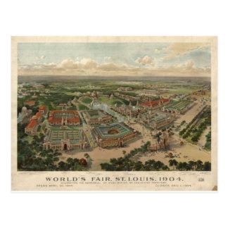 Carte Postale L'Exposition universelle 1904 de St Louis