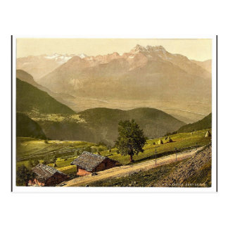 Carte Postale Leysin, non-et, canton, cru Photochr de la Suisse
