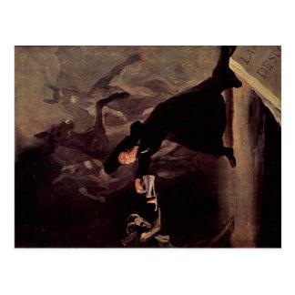 Carte Postale L'homme enchanté par Francisco Goya 1798
