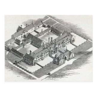 Carte Postale L'hospice des syndicats à ériger à