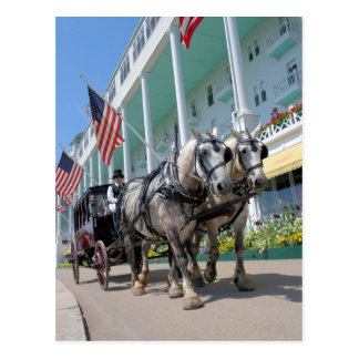 Carte Postale L'hôtel grand - île de Mackinac, Michigan