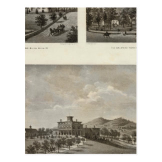 Carte Postale Libby, résidences de Halstead