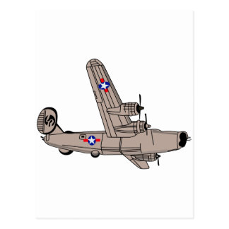 Carte Postale Libérateur B-24