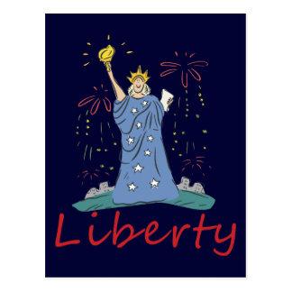 Carte Postale Liberté