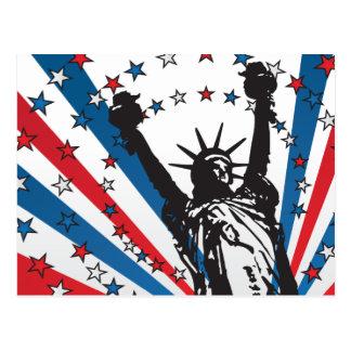 Carte Postale Liberté des Etats-Unis