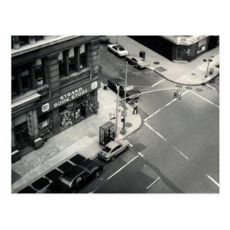 Carte Postale Librairie de brin de NYC (photo vintage à partir