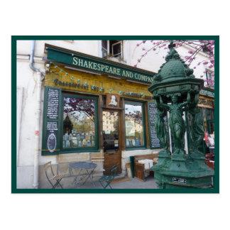 Carte Postale Librairie de Shakespeare (Paris)