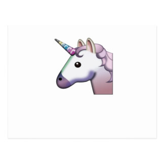 Carte Postale Licorne majestueuse Emoji