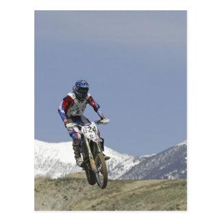 Carte Postale L'Idaho, motocross emballant, moto 2 de emballage
