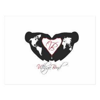 Carte Postale Ligne en esclavage de conscience de vitiligo