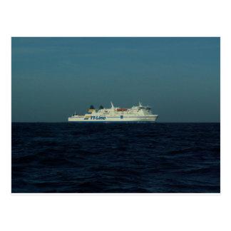 Carte Postale Ligne ferry de TTT