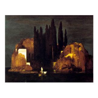 Carte Postale L'île des morts par Arnold Böcklin
