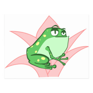Carte Postale Lilly Frog