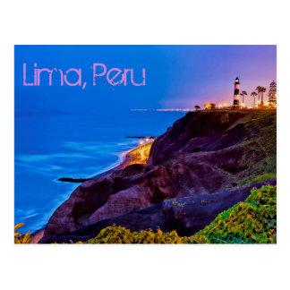 Carte Postale Lima, Pérou, secteur de Miraflores, SA
