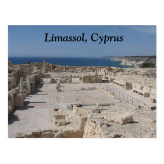 Carte Postale Limassol, Chypre