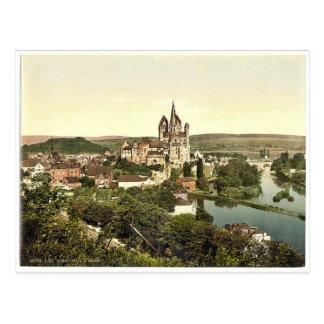 Carte Postale Limbourg (c.-à-d., Limbourg un der Lahn),