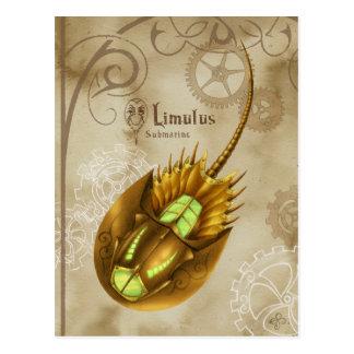 Carte Postale Limulus Submarine