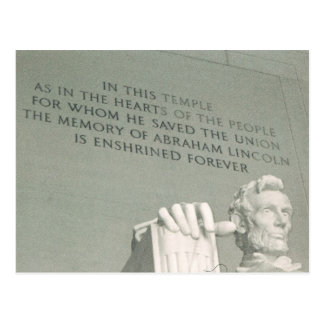 Carte Postale Lincoln
