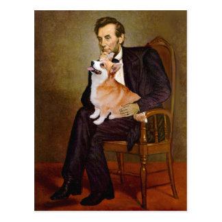 Carte Postale Lincoln - corgi 7b de Gallois de Pembroke