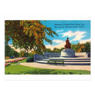 Carte Postale Lincoln Park, Jersey City, New Jersey
