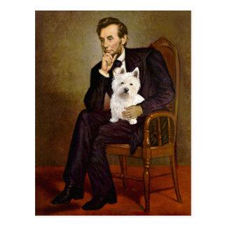 Carte Postale Lincoln - Westie 1