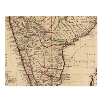 Carte Postale L'Inde et le Bangladesh
